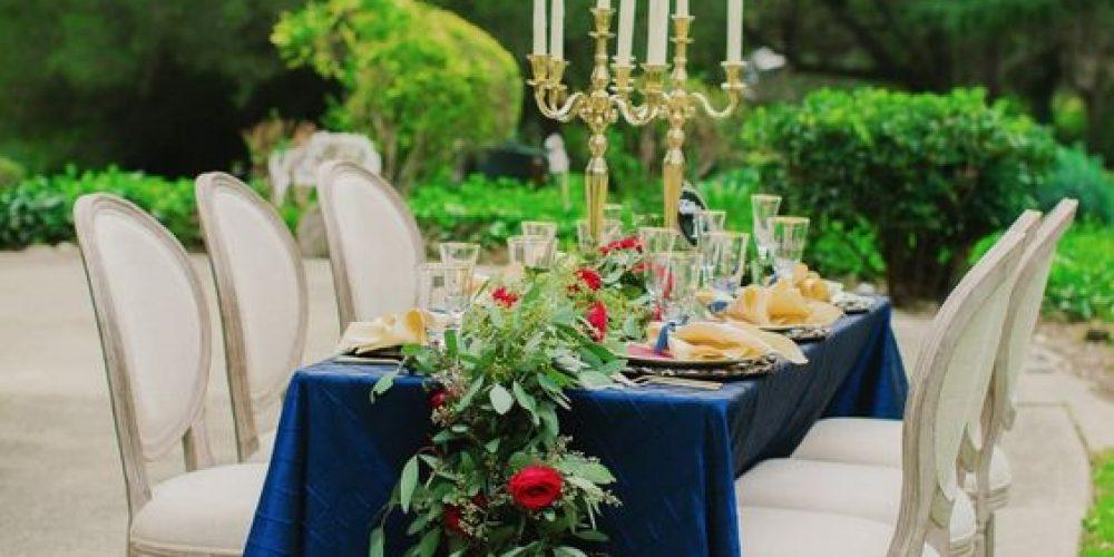 Rojo y azul para boda el 4 de julio – ¿Te atreves?
