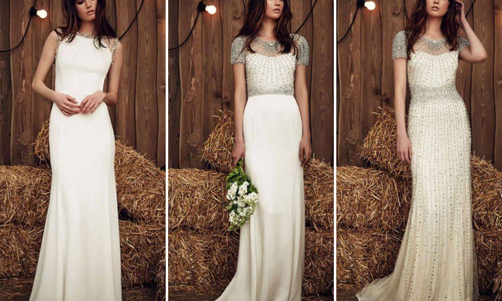 Vestidos de novia con pedrería ¡hermosos!