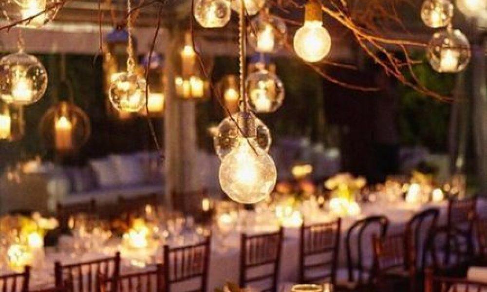 Ideas para iluminar una Boda
