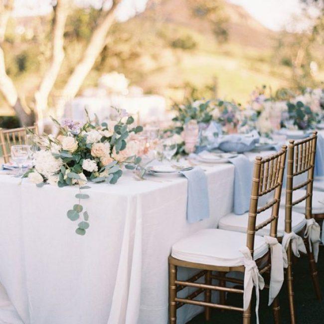 Baby blue: Ideas para una boda en verano