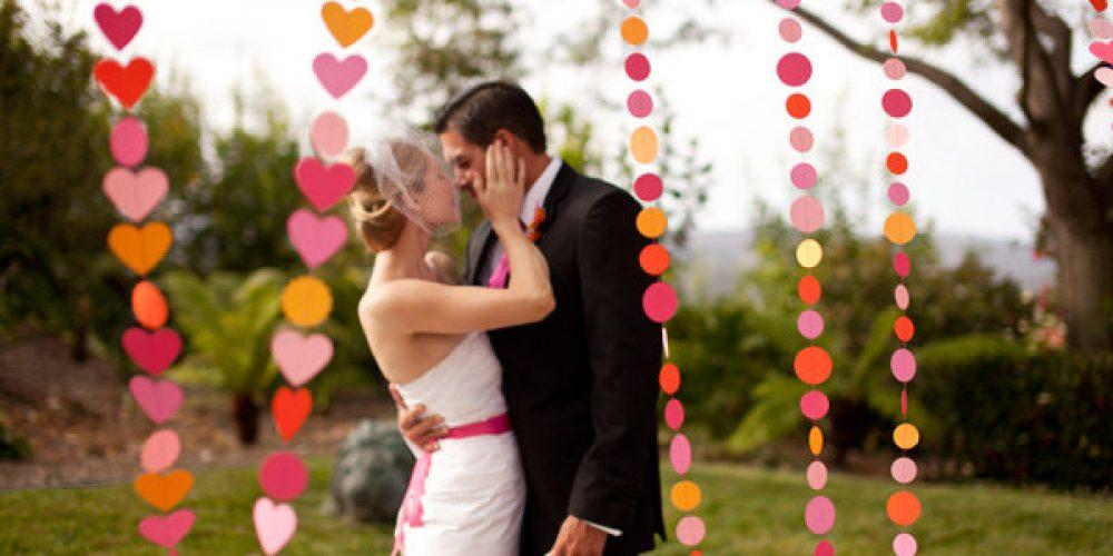 Una boda sensual para enamorados en el mes del Amor