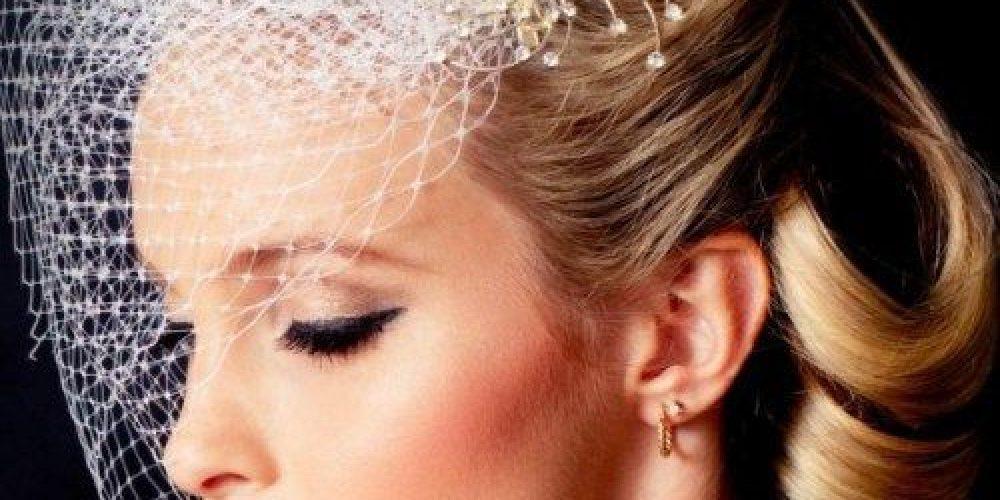 Peinados de novia vintage, ¡hermosos!