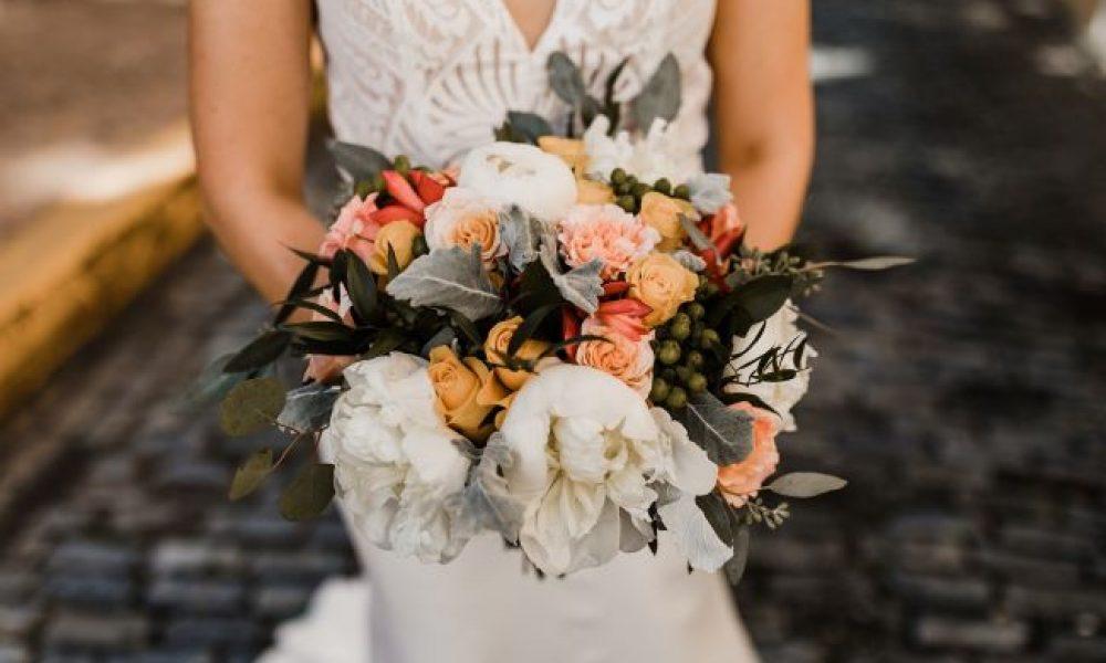 ramos de novias en el otoño