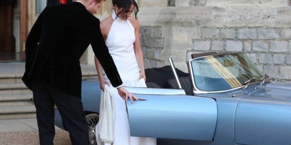 Segundo vestido de Meghan Markle  fue diseñado por Stella McCartney