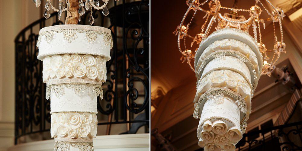 Bizcochos Colgantes: una tendencia de impacto en bodas